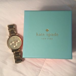 Kate Spade Gold Watch- comes with links!!